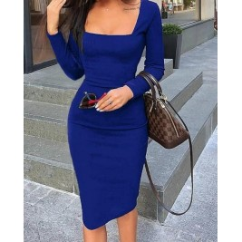 Elegant long sleeve dress...