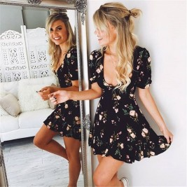 Floral summer dress for...