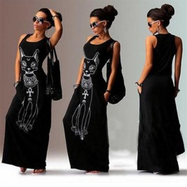 Women Long Maxi Dress 2019...