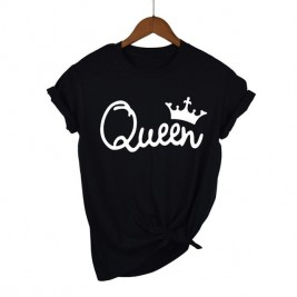 Queen Couples Women T-shirt...