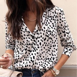 Womens Blouse Sexy Long...