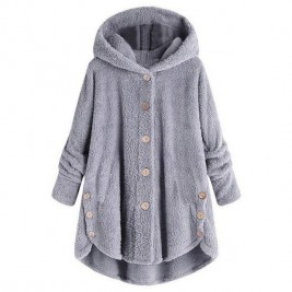 Women Warm Coat Loose Long...
