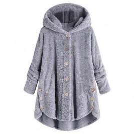 Women Warm Coat Loose Long...