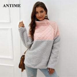 Antime Patchwork Turtleneck...
