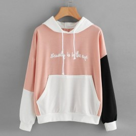 Women Letters Hoodies...
