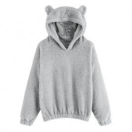 Lovely Hoodies With Bear...