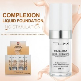 TLM Foundation Makeup Color...