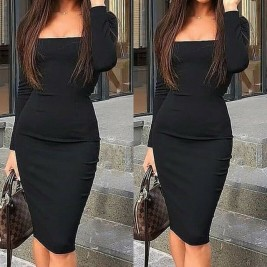 Women Bodycon Dress Sexy...