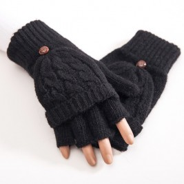 Women Half Finger Gloves...