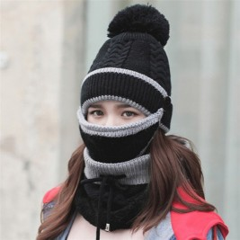 Set 3 Hats Women Winter...