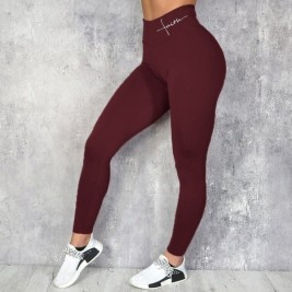 High Waist Leggings Fitness Clothes Slim Ruched Bodybuilding Women S Pants Athleisure Pants In Leggings From Women S Clothing On