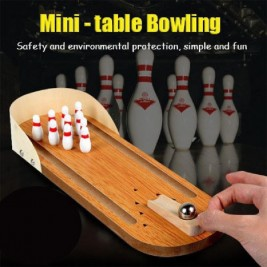 Wooden Mini table bowling...